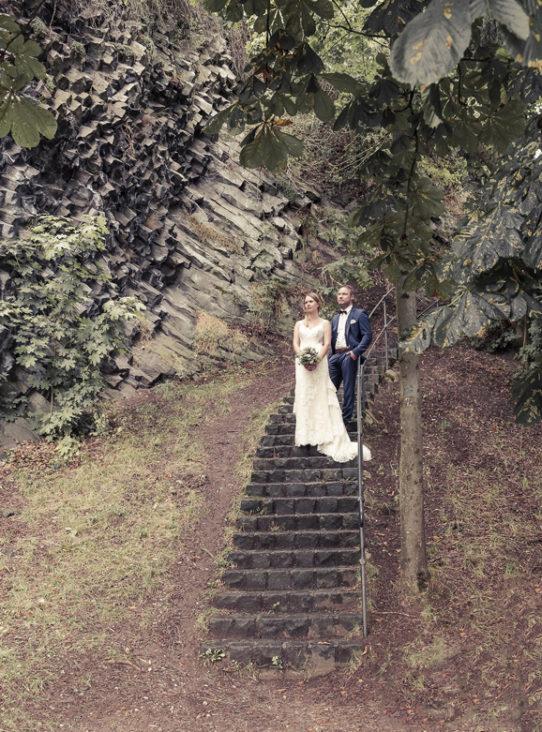 Hochzeitsfotografie Trauung in Zweisamkeit